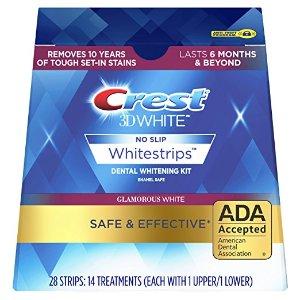 $25.95 Crest 3D White Glamorous White Whitestrips Dental Teeth Whitening Strips Kit