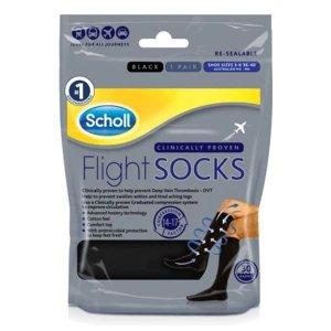 Scholl飞行压力袜