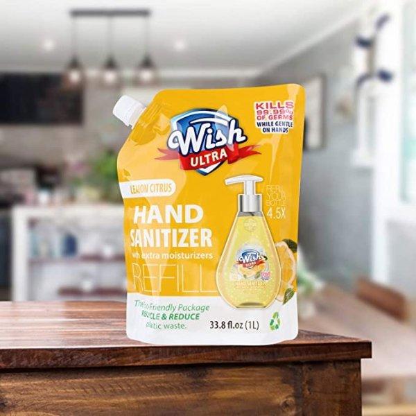 柠檬味免洗洗手液 1L