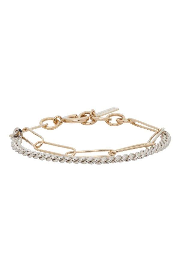 金银色手链