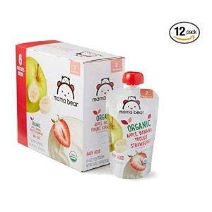8折+额外9.5折+包邮美亚自营品牌 Mama Bear 有机婴幼儿辅食