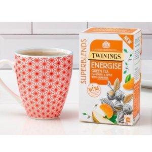 买3免1 多口味可选Twinings 官网 Superblends系列茶包大促