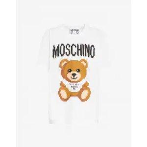 Moschino像素小熊T