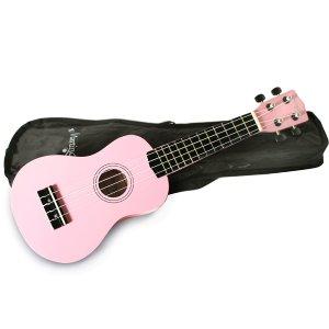 仅售€31.51 包邮Martin Smith 超可爱粉色乌克丽丽 在家没事干弹弹琴呗