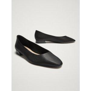 小羊皮芭蕾舞鞋