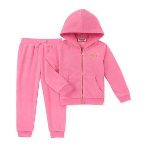 低至3.6折 卫衣卫裤套装$26.99起Juicy Couture 女童服饰限时优惠