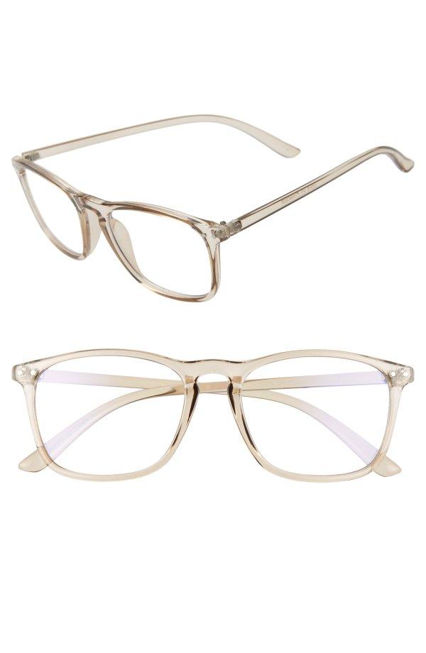 52mm防蓝光眼镜