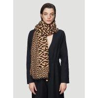 Gucci logo 羊毛围巾