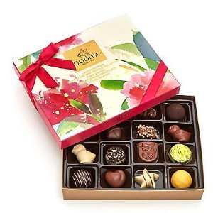 $24.5Godiva Assorted Chocolate Spring Gift Box, 16 pc.