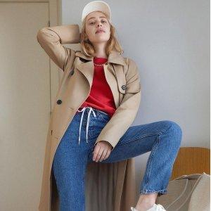 新人首单9折 T恤$52Everlane 秋季新款美衣、美鞋热卖 卫衣$58 保暖外套$98