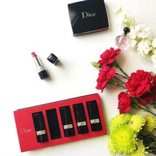 这个节日最美的礼物 Rouge Dior迷你唇膏套组 & 黄皮秋冬最爱五支唇膏