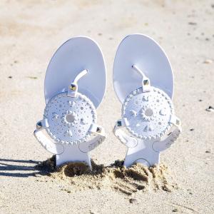 低至4折+额外7.5折Jack Rogers 美鞋热卖 封面款$22,可爱彩虹沙滩拖$14