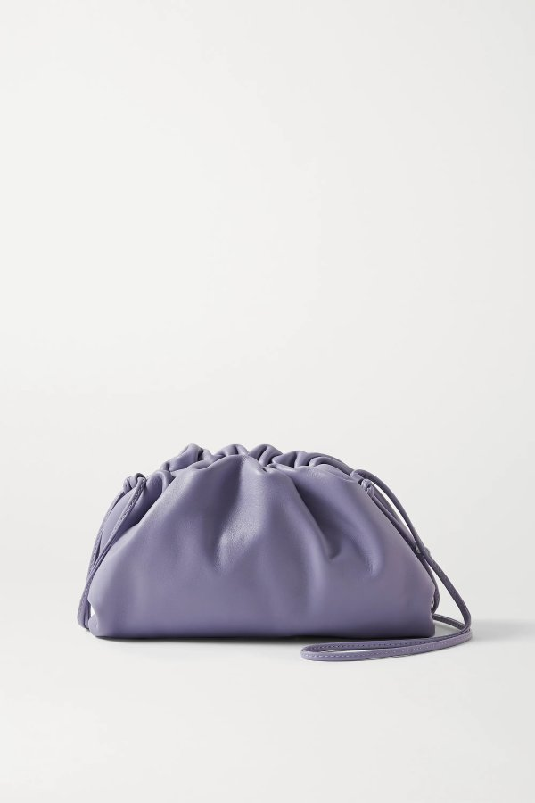 The Pouch 香芋紫小号云朵包