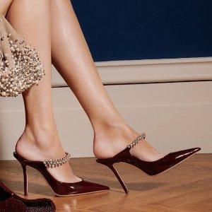 每满$100立减$25 收经典亮片鞋Bloomingdales 精选Jimmy Choo 美鞋热卖