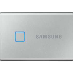 1TB Only $189Samsung T7 Touch Portable SSD Black/Silver 2T Only $359