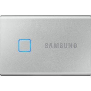 1TB版仅$189Samsung T7 Touch 移动固态硬盘 黑银两色 2TB版仅$349
