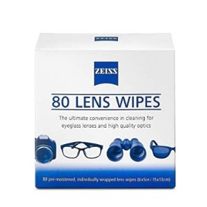 $6.48Zeiss Pre Moistened Lens Cleaning Wipes 80 Count