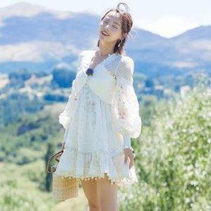 4.5折起 €280收连衣裙Zimmermann 澳洲贵妇仙女裙 绝美天花板 秒变人间富贵花