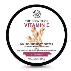 The Body Shop$10 0ff with $70Vitamin E Nourishing Body Butter