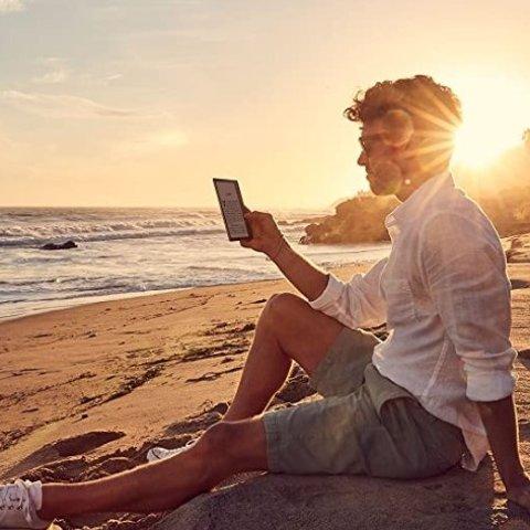 现价£289.99(原价£319.99)Kindle Oasis 防水电子阅读器 降价热卖 32GB 免费3G+Wi-Fi