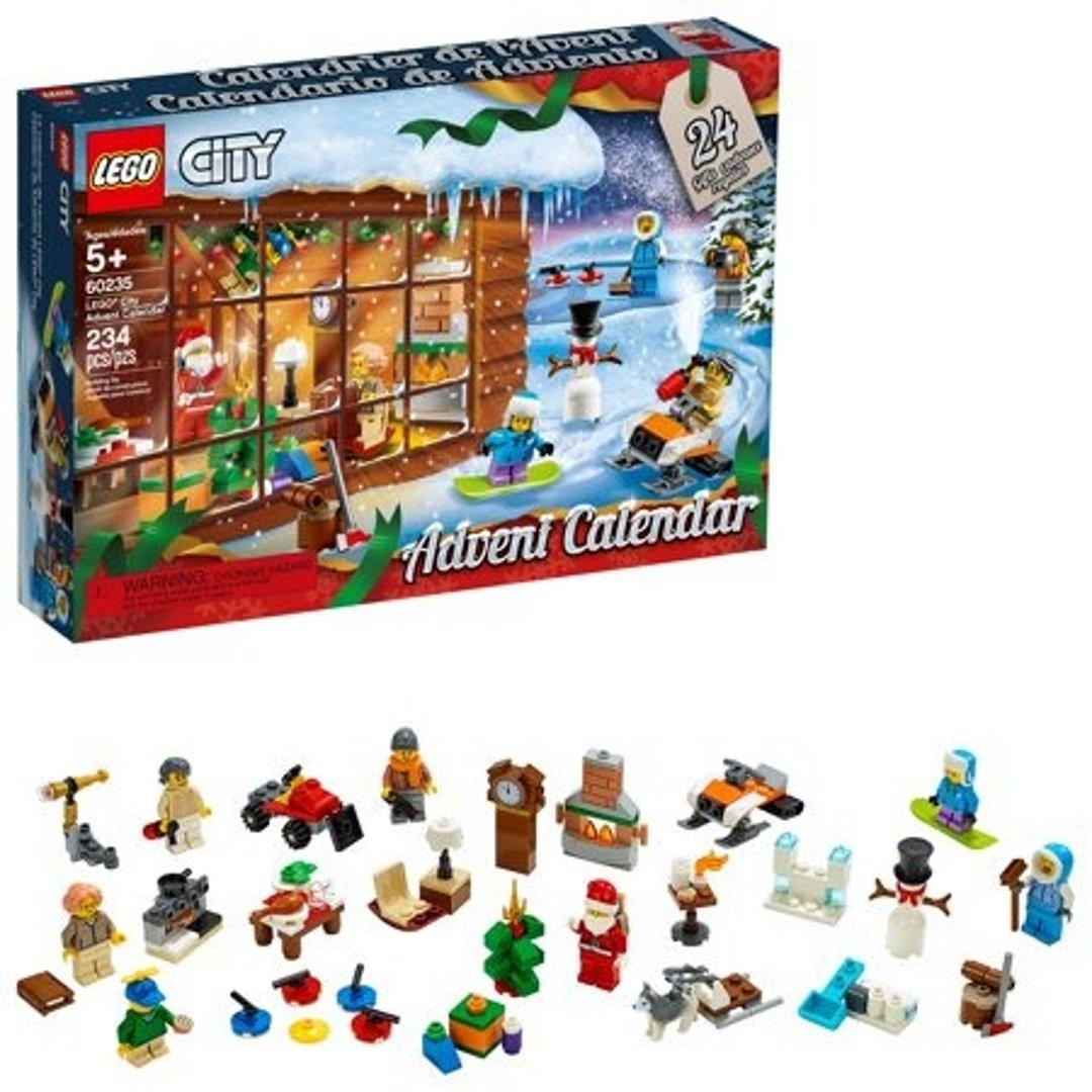 城市系列 圣诞倒计时盒 60235