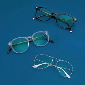 低至7折+免邮Glasses 设计款镜框带平光镜片促销 雷朋、Oakley镜框好价收