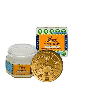 Tiger Balm Pain Relieving Ointment White Regular Strength, 18g
