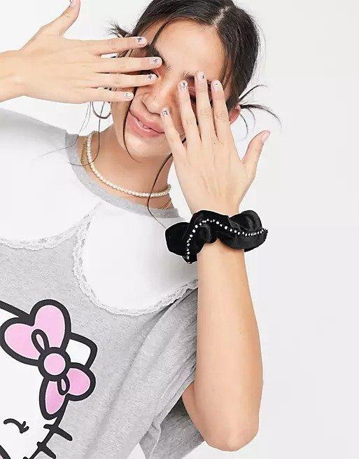 x Hello Kitty 宽松T恤裙
