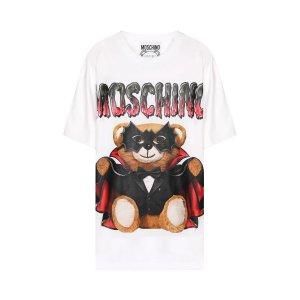 MoschinoBat Teddy Bear Print T-shirt