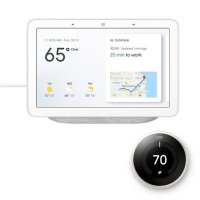 Nest Learning Thermostat 3代智能温控器 白色 + Google Home Hub