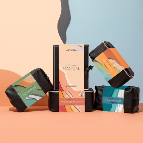 3.6折起+送6件套+返券Adore Beauty 2021圣诞日历开售   更多美妆博主推荐套装