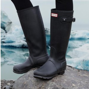满€150减€30=变相8折Hunter官网 新款雨靴、雨衣、防水双肩包秋季热卖中