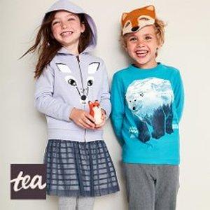 低至$11.99Tea Collection 高档童装特卖 小苏瑞常穿童衣品牌