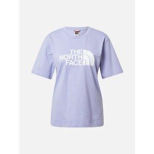 The North Face香芋紫logoT恤