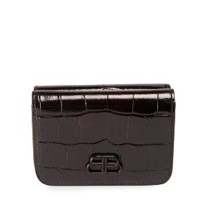 BalenciagaCash Mini Shiny 钱包