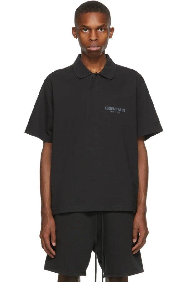 Black Polo 衫