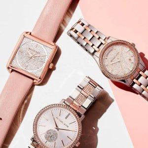 低至5折Michael Kors 精选男女智能手表、石英表热卖