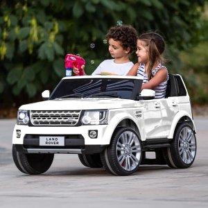 优惠码:DAY1412V 路虎复刻儿童电动车,家长可遥控,多色选