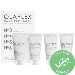 $35+送fresh护肤中样上新:OLAPLEX 拯救烫染受损头发4件套 宅家享受沙龙护发