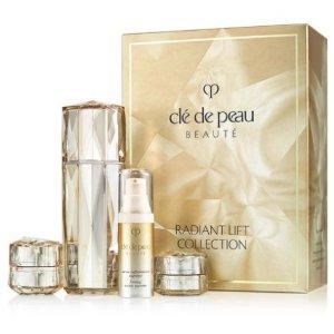 $330 (价值$540)+任意单中样Clé de Peau Beauté 奢宠护肤系列套装