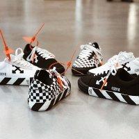 Off-White - Arrow Low-Top 标签潮鞋