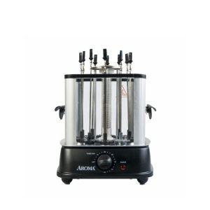 Amazon.com: Aroma Housewares ABT-106 Auto Rotating Kebab Maker, 10 Skewers, Black: Kitchen & Dining