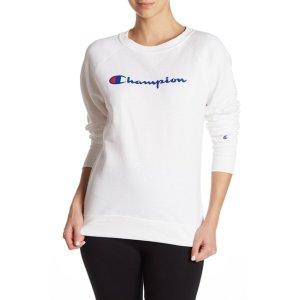 ChampionPowerblend Fleece Logo Crew Neck Sweatshirt
