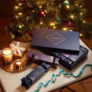 售价仅¥268 + 2套免邮中国Lookfantastic 圣诞小盒,内含Elemis晚霜、辣木卸妆膏等6件单品