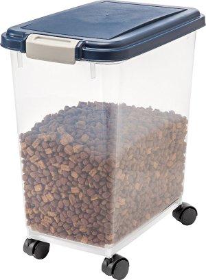 $10.89(原价$16.99)IRIS 宠物干粮储存罐