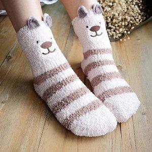 折后仅€10.99甜美圣诞袜3双 超级柔软舒适 初秋已至 注意保暖哦