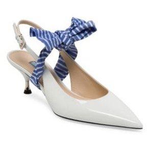 42fd47e4e96a Saks Fifth Avenue offers up to 40% off Select Prada Bags, Shoes and more.  Free shipping, via coupon code FREESHIP . Prada- Large Bow Slingback Pumps