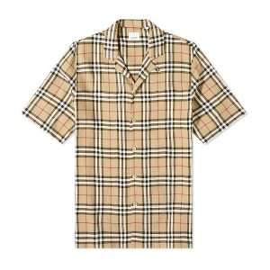 BurberryVintage Check格纹衬衫