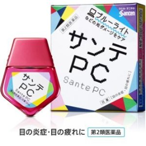 参天PC电脑手机蓝光专用眼药水12ml 缓解眼疲劳充血