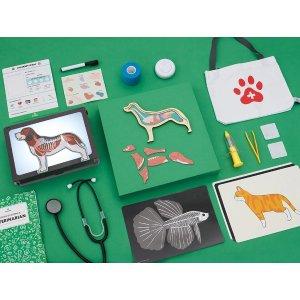 kiwico兽医玩具套装,适合年龄 5+